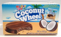 Mister Sweets Coconut Wheels 36x25g