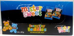 Mister Sweets Teeny Tiny Teddies 24x60g