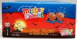 Mister Sweets Vampire Fangs 24x60g