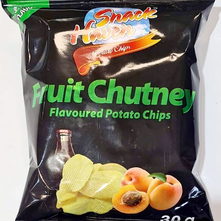 Suz Snack Haven Potato Chips Fruit Chutney 24x30g