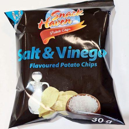 Suz Snack Haven Potato Chips Salt & Vinegar 24x30g